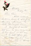 Hewes Family Papers, 1843-1918