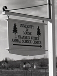 J. F. Witter Teaching and Research Center (University of Maine) Records, 1916-1992