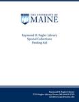 Syllabi (University of Maine) Records, 1946-1990