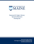 Printing and Mailing Services (University of Maine) Records, 1920-1981
