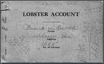 Reynolds (Frank W.) Lobster Account Books, 1929-1932