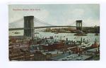 Brooklyn Bridge by Fortunat Michaud