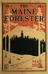 Maine Forester: 1923 by University of Maine. School of Forestry Resources