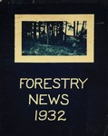 Maine Forester: 1932 by University of Maine. School of Forestry Resources.