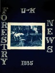 Maine Forester: 1935 by University of Maine. School of Forestry Resources.