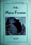 Maine Forester: 1937 by University of Maine. School of Forestry Resources.