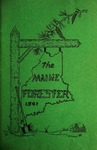 Maine Forester: 1941 by University of Maine. School of Forestry Resources.