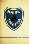 Maine Forester: 1942 by University of Maine. School of Forestry Resources.