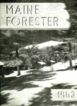 Maine Forester: 1963 by University of Maine. School of Forestry Resources.