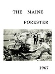 Maine Forester: 1967 by University of Maine. School of Forestry Resources.