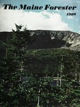 Maine Forester: 1980 by University of Maine. School of Forestry Resources.
