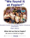 We Found it at Fogler - Student Action for Animal Rights Initiative