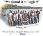 We Found it at Fogler - UMaine Crew