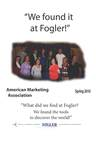 We Found it at Fogler - American Marketing Association