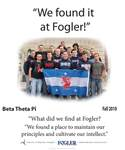 We Found it at Fogler - Beta Theta Pi by Hansie Grignon and Brad Finch