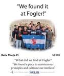 We Found it at Fogler - Beta Theta Pi
