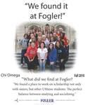 We Found it at Fogler - Chi Omega