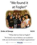 We Found it at Fogler - Order of Omega