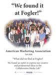 We Found it at Fogler - American Marketing Association