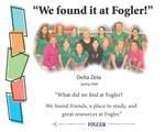We Found it at Fogler - Delta Zeta