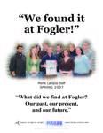 We Found it at Fogler - The Maine Campus