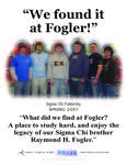 We Found it at Fogler - Sigma Chi
