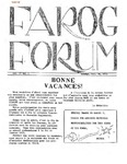 F.A.R.O.G. FORUM, Vol. 2 No. 6