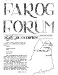 F.A.R.O.G. FORUM, Vol. 2 No. 7