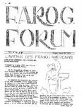 F.A.R.O.G. FORUM, Vol. 2 No. 9
