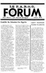 F.A.R.O.G. FORUM, Vol. 3 No. 6
