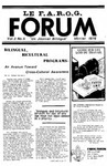 F.A.R.O.G. FORUM, Vol. 3 No. 5