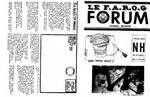 F.A.R.O.G. FORUM, Vol. 4 No. 4 by Paul Paré, Editeur en chef
