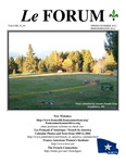 Le FORUM, Vol. 35 No. 4