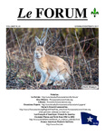 Le FORUM, Vol. 39 No. 1