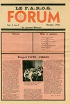 F.A.R.O.G. FORUM, Vol. 3 No. 2