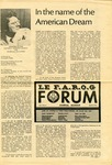 F.A.R.O.G. FORUM, Vol. 5 No. 4