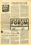 F.A.R.O.G. FORUM, Vol. 5 No. 8