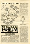 F.A.R.O.G. FORUM, Vol. 6 No. 5 by Yvon A. Labbé , Rédacteur en chef