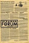 F.A.R.O.G. FORUM, Vol. 7 No. 8 by Yvon A. Labbé , Rédacteur en chef and Debbie Gagnon , Rédacteur Etudiant