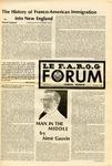 F.A.R.O.G. FORUM, Vol. 8 No. 3 by Yvon A. Labbé , Rédacteur en chef; Steffan T. Duplessis , Rédacteur Adjoint; and James Violette , Rédacteur Etudiant