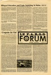 F.A.R.O.G. FORUM, Vol. 8 No. 4