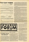 F.A.R.O.G. FORUM, Vol. 9 No. 1