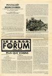 F.A.R.O.G. FORUM, Vol. 9 No. 2 by Yvon A. Labbé , Rédacteur en chef; Steffan T. Duplessis , Rédacteur Adjoint; Marc D. Morin , Rédacteur Etudiant; and Elizabeth M. Cash , Rédactrice Etudiante