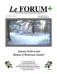 Le FORUM, Vol. 33 Nos. 2&3 by Lisa Desjardins Michaud Rédactrice