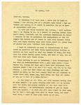 Thompson Document 03: Letter from Henrietta Thompson to Jack Belden