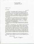 Thompson Document 18: Letter from Henrietta Thompson to Bridget Croft by Henrietta Thompson
