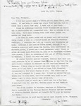 Thompson Document 20: A Letter from Ruby Johnson to Henrietta Thompson