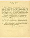 Thompson Document 25: Letter from Henrietta Thompson to Tun Shein and Lulu by Henrietta Thompson