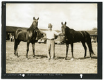 W. Wathan with Speculator and Cal Abbe by Guy Kendall
