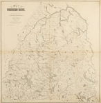 Map of Northern Maine. Specially Adapted to the Uses of Lumbermen and Sportsmen